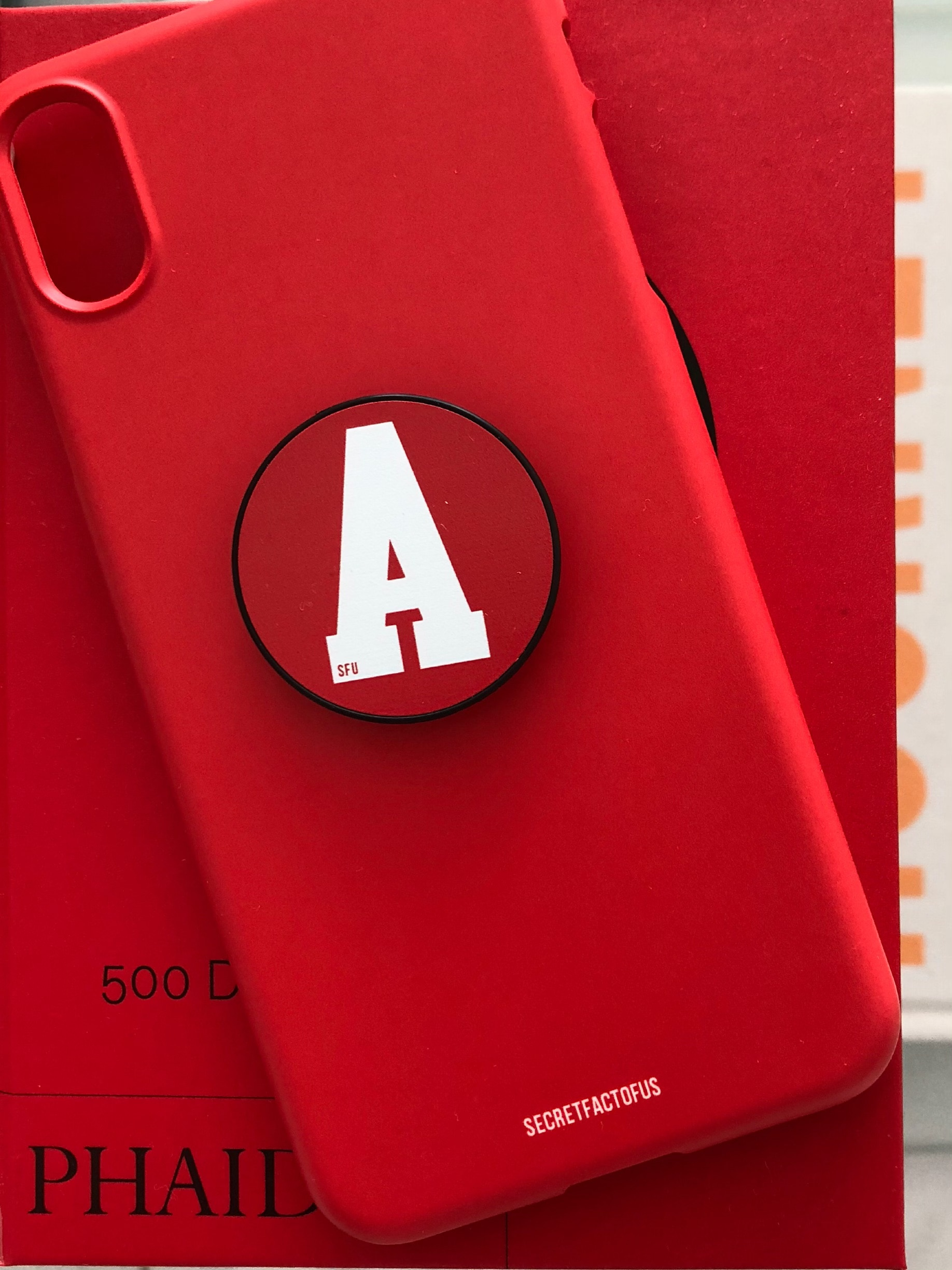 Simple Color Case [ Red ]