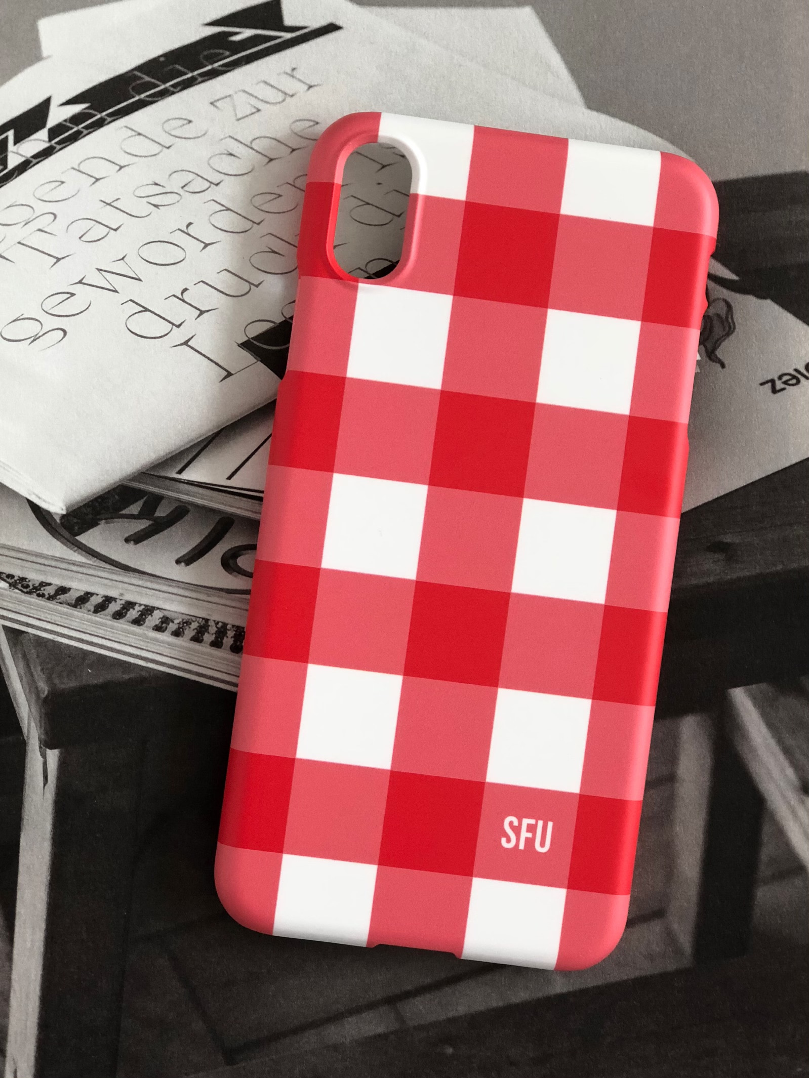 Gingham Lovers [ Ver.2 : Red ]