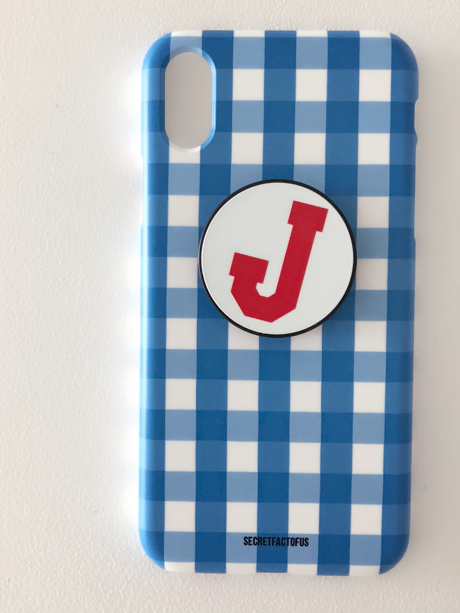 Gingham Lovers (Blue)