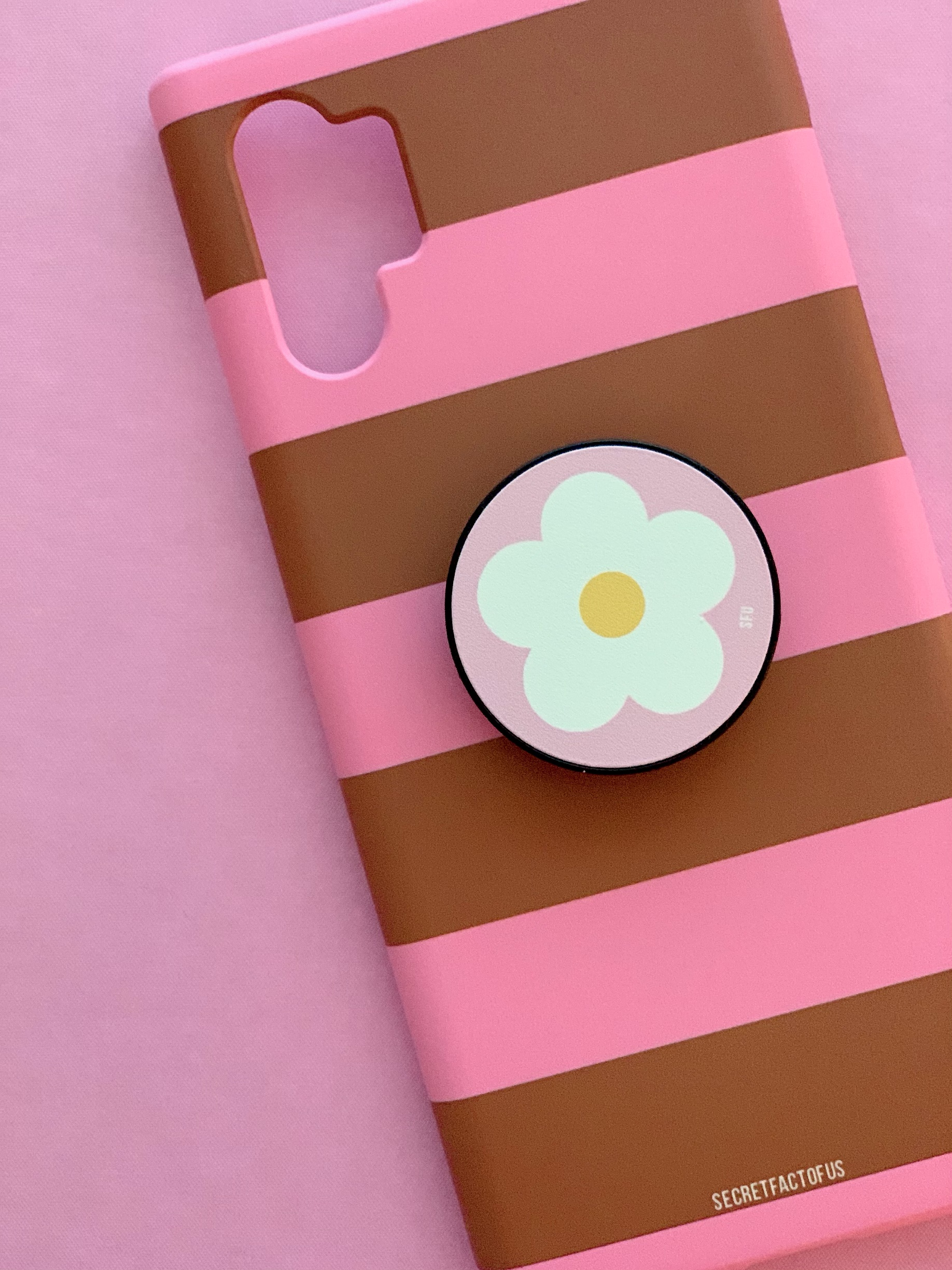 Candy Stripes (Pink-Brown)
